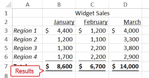Excel: Bold, Italicize, or Underline