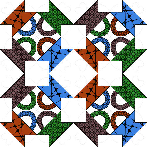 An example of zentangle art.