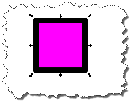 Inkscape: Change fill color result