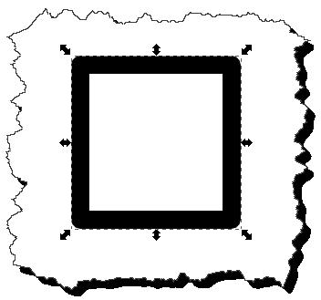 Inkscape: Remove fill result