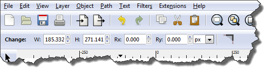 Inkscape: Rectangle controls