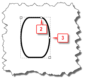 Inkscape: Rectangle with elliptical sides