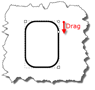 Inkscape: Round corners