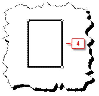 Inkscape: Sharp corner a rectangle final image