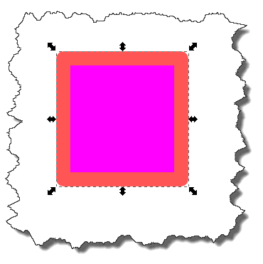 Inkscape: Add stroke result