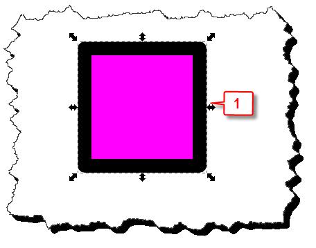 Inkscape: Remove a stroke step 1