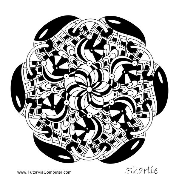 Zentangle: Friendship