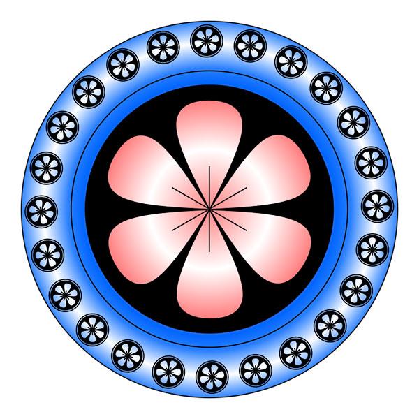 Circular Zentangle