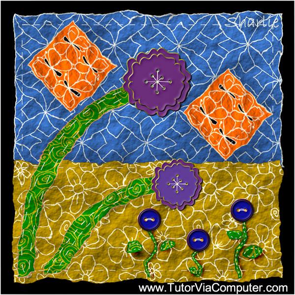 Zentangled Quilt
